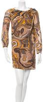 Missoni Embellished Pattern Dress