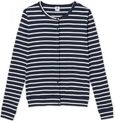 Petit Bateau Iconic womens striped cardigan
