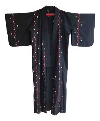 Non Signã© / Unsigned Kimono Black Cotton Jackets