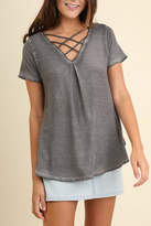 Umgee USA V Neck Top