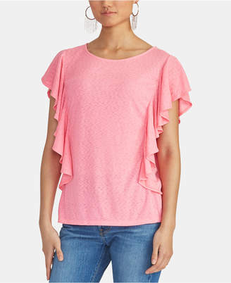 Rachel Roy Ruffled Top
