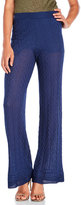 M Missoni Knitted Zigzag Flare Pants