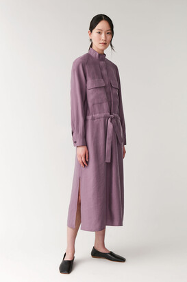 Cos A-Line Dress With Pockets