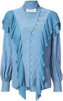 Prabal Gurung ruffle detail blouse