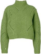 Isabel Marant Farren pullover - women - Polyester/Wool/Alpaca - 38