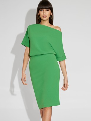 New York & Co. Off-The-Shoulder Sheath Dress - Gabrielle Union Collection