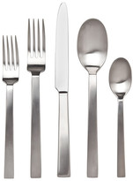 Ricci Brushed Silver Rapallo Satin 20-Piece Flatware Set