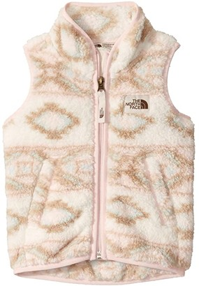 The North Face Kids Campshire Vest (Toddler) (Vintage White Mini Tribal Geo Print) Girl's Vest