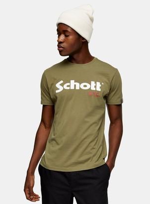 Topman SCHOTT Logo T-Shirt 2 Pack*