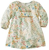 Baby Flora Dress In Cotton Sateen