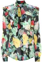 Preen by Thornton Bregazzi Billy floral-printed silk blouse