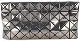 Bao Bao Issey Miyake geometric structure zipped clutch