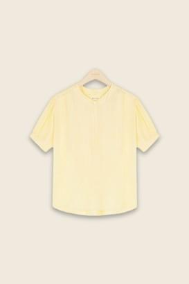 Masscob Yellow Garota Top - s