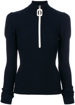 Aviu ribbed zip sweater