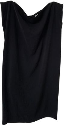 Humanoid Black Polyester Dresses
