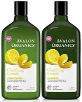 Avalon Clarifying Lemon, DUO Set Shampoo + Conditioner, 11 Ounce, 1 Each