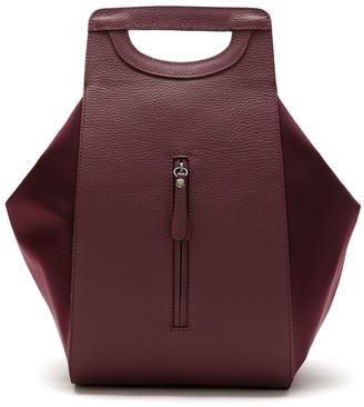 Sarah Chofakian Leather Multifunctional Backpack
