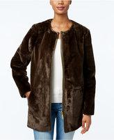 MICHAEL Michael Kors Reversible Faux-Fur Walker Coat