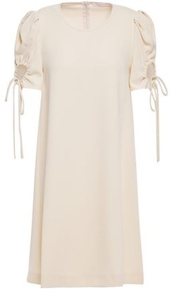 See by Chloe Cutout Stretch-crepe Mini Dress