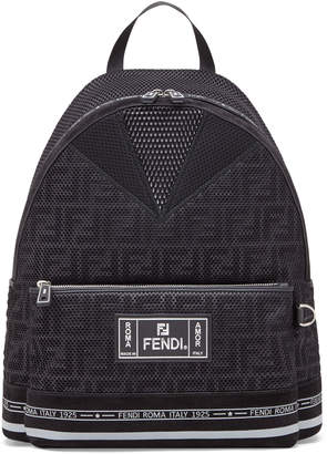 Fendi Men's FF Roma Amor Perforated Backpack