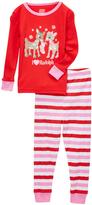 Rashti & Rashti Red 'I Heart Rudolph' Pajama Set - Infant & Toddler