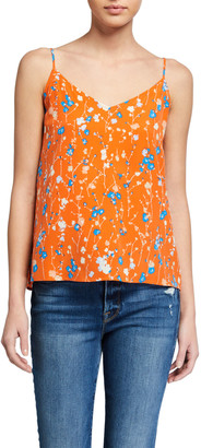 Equipment Layla Floral Print Cami