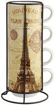 Pier 1 Imports Paris Stacking Mug Set