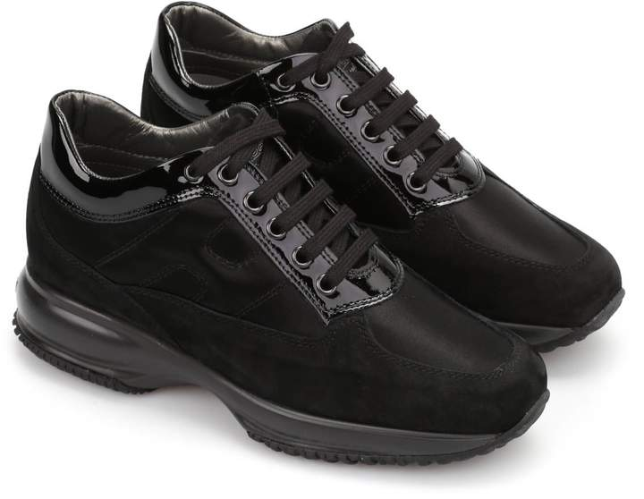 Hogan Interactive Suede Sneakers