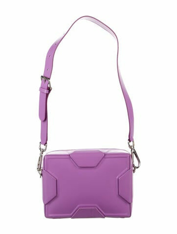 Thumbnail for your product : Lee Savage Leather Soft Space Shoulder Bag Purple