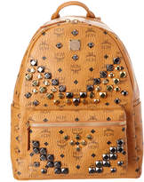 MCM Stark Medium Studded Visetos Backpack
