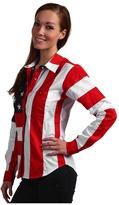Scully Flag Shirt Women's Long Sleeve Button Up