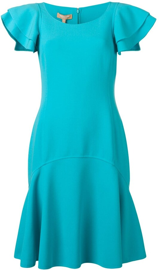 Michael Kors Collection Short Sleeved Dress