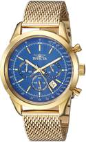 Invicta Men's 'Speedway' Quartz Stainless Steel Casual Watch, Color:-Toned (Model: 25224)