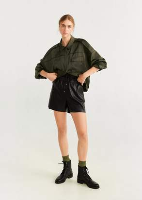 MANGO Cargo bomber jacket