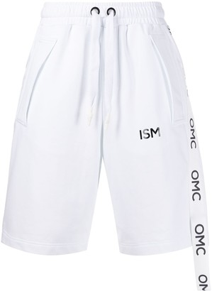 OMC Logo Stripe Track Shorts