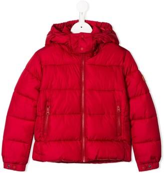 Save The Duck Kids Zipped Puffer Jacket