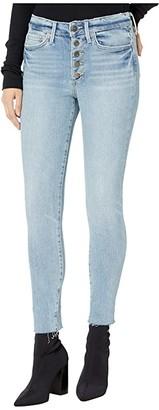 Sam Edelman Stiletto Ankle w/ Exposed Button Fly in Jessie (Jessie) Women's Jeans