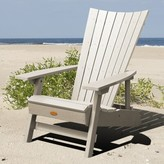 Adirondack Anette Plastic Folding Chair Sol 72 Outdoor Color: Whitewash