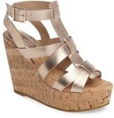 Pelle Moda Women's Rayjay Wedge Sandal
