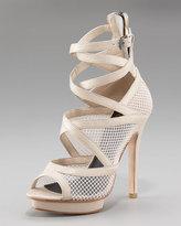 Paulina Cutout Mesh Sandal