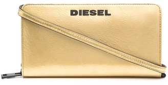 Diesel Logo Plaque Wallet