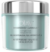 Olay Regenerist Luminous Overnight Facial Mask Gel Moisturizer, 4.5 oz