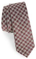 The Tie Bar Men's Houndstooth Thrill Silk Tie