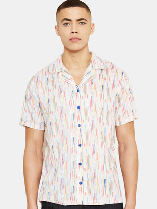 NATIVE YOUTH Portman Short Sleeve Button Up Shirt