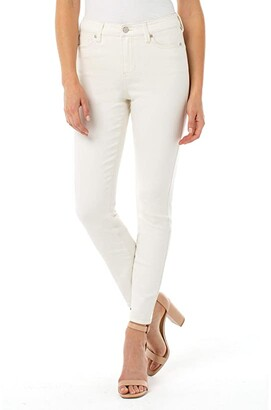 Liverpool Abby Ankle Skinny in Cream Tan (Cream Tan) Women's Jeans