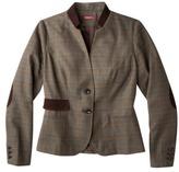 Merona® Womens Jacket w/Corduroy Stand Collar - Assorted Patterns