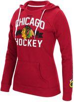 Reebok Women's Chicago Blackhawks Banner Arch Hoodie