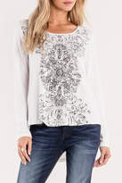 Miss Me Lace-Up Detailed Top