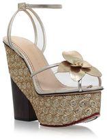 Charlotte Olympia Orchid Leandra Platform Sandals