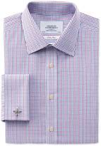 Charles Tyrwhitt Slim fit non-iron multi grid check shirt